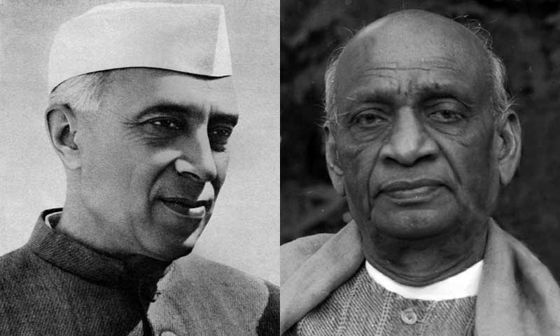 Nehru and Sardar Patel