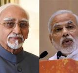 Hamid Ansari and Modi